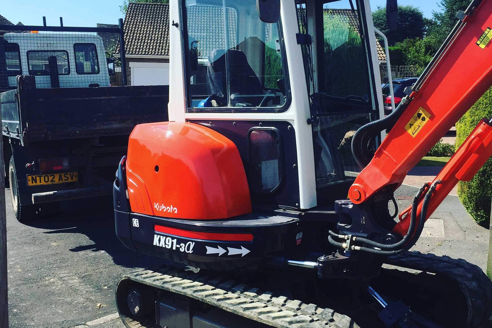 digger hire east sussex